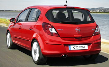 Rear view » 2008 Opel Corsa 1.3 CDTI