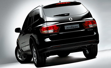 Rear view » 2008 SsangYong Kayron