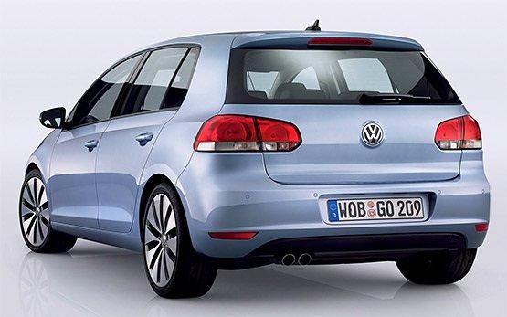 Ruckansicht » 2013 Volkswagen Golf 6 AUTO