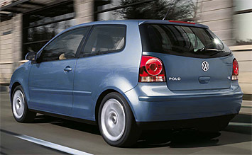 Rear view » 2008 Volkswagen Polo  1.4 Petrol