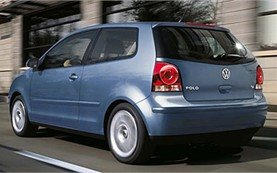Rear view » 2008 Volkswagen Polo AUTO