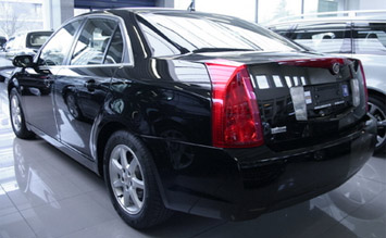 Rear view » 2009 Cadillac BLS