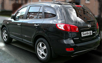Rear view » 2009 Hyundai Santa Fe 4X4