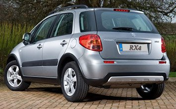Rear view » 2009 Suzuki 1.6