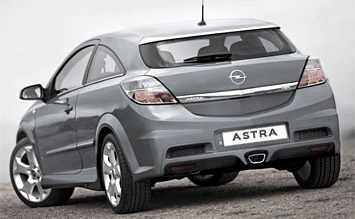 Rear view » 2010 Opel Astra Automatic