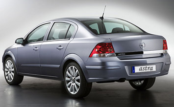 Rear view » 2010 Opel Astra Sedan