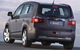 Rear view » 2011 Chevrolet Orlando 6+1 AUTO