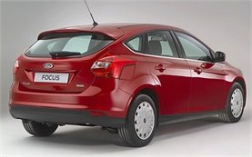 Rear view -  2011 Ford Focus 1.6