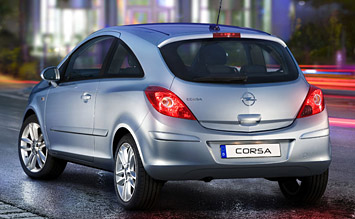 Rear view » 2013 Opel Corsa
