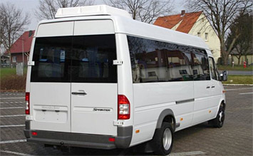 Rear view » 2015 Mercedes Sprinter 17+1