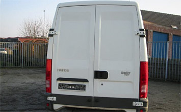 Rear view » Iveco Daily Cargo 50C14V