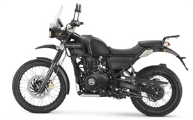 Royal Enfield Himalayan 411 (off-road use) - motorbike hire Malaga