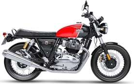 Royal Enfield Interceptor 650 - motorbike hire Barcelona