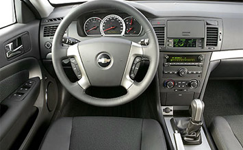 Interior Chevrolet Lacetti Byala Pic