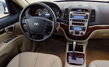 Hyundai santa fe 2009 interior