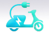 Elektrische Motorroller