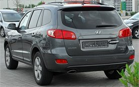 Rear view » 2010 Hyundai Santa Fe 2.2