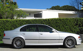 Side view » 2002 BMW 520