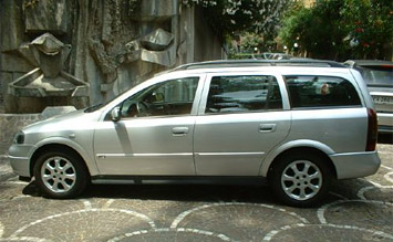 Side view  » 2003 Opel Astra Estate