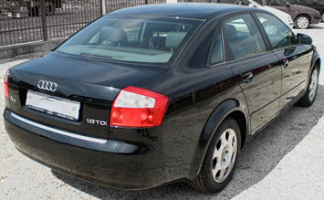 Side view » 2004 Audi A4