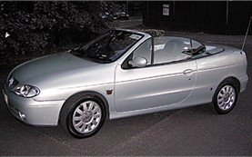 Side view » 2004 Renault Megane Convertible