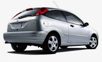 Поглед отстрани » 2005 Форд Фокус хачбек
