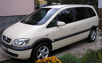 Side view » 2005 Opel Zafira 5+2
