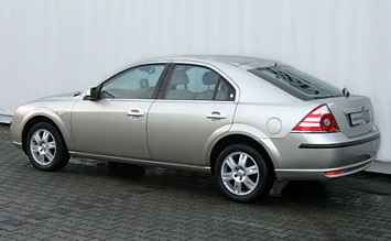 Side view » 2006 Ford Mondeo