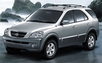 Side view » 2006 KIA Sorento