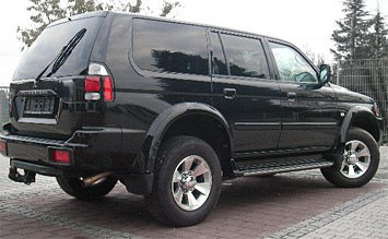 Side view » 2006 Mitsubishi Pajero Sport