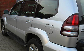 Side view » 2006 Toyota Land Cruiser