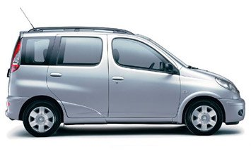 Side view » 2006 Toyota Yaris Verso