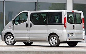 Side  view » 2010 Opel Vivaro 8+1 pax
