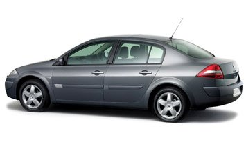 Side view » 2007 Renault Megane Sedan