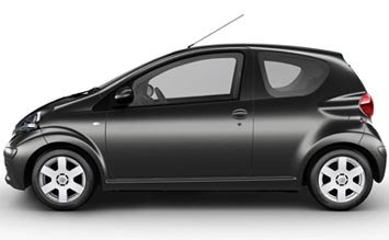 Side view » 2007 Toyota AYGO