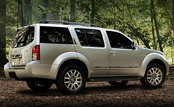 Side view » 2008 Nissan Pathfinder