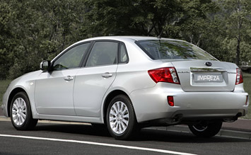 Side view » 2008 Subaru Impreza 2.5i