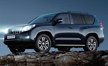 Side view » 2008 Toyota Land Cruiser 4WD