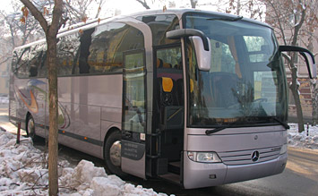 Side view » 2010 Mercedes Travego Touring