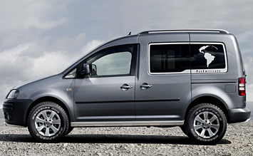 Side view » 2010 Volkswagen Caddy 5+2