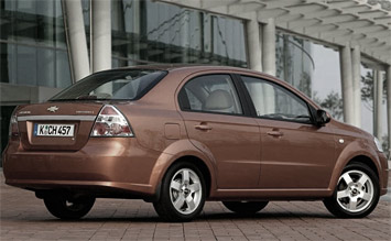 Side view » 2011 Chevrolet AVEO