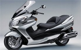 Suzuki Burgman 400 - scooter rental Greece Crete Rethymno