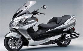 Suzuki Burgman 400 - наем на скутер Палма де Майорка