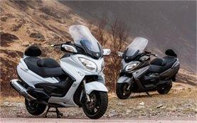 Suzuki Burgman 650 аренда скутера - Париж