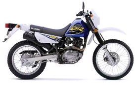 SUZUKI DR 200cc - motorbike rental in scooter rental in Karpathos