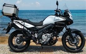 Сузуки В-Стром 650cc аренда мотоцикла