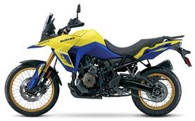 Сузуки В-Стром 650cc мотоциклет под наем Барселона