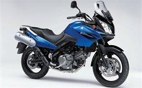 Сузуки В-Стром 650cc мотоциклет под наем Хърватия