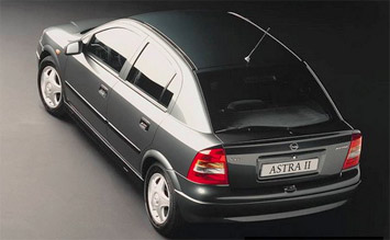 Top view » 2005 Opel Astra Classic