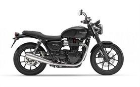 Triumph Bonneville Street Twin - мотоциклет под наем Барселона